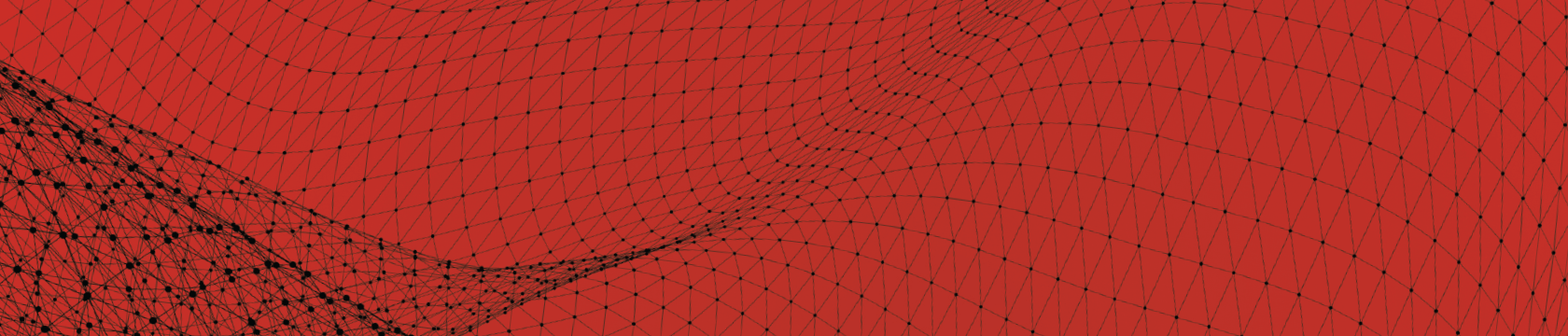 red image with black netting