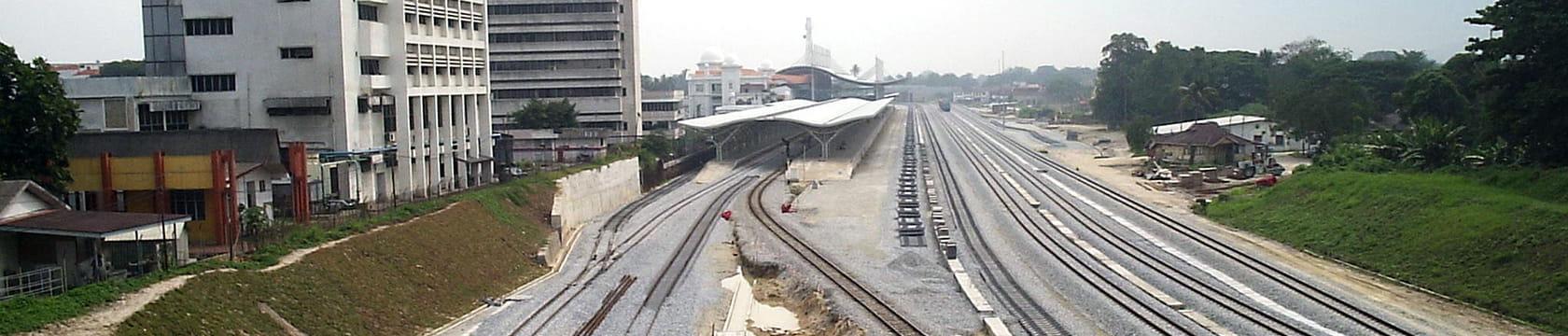 Rawang to Ipoh Rail Double Track