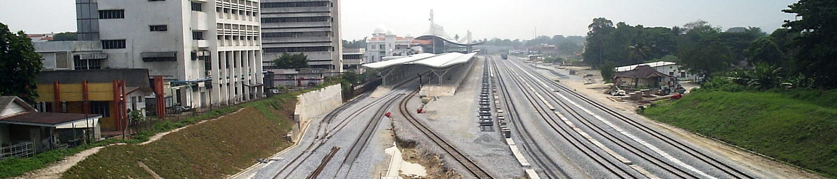 Rawang to Ipoh Rail Double Track