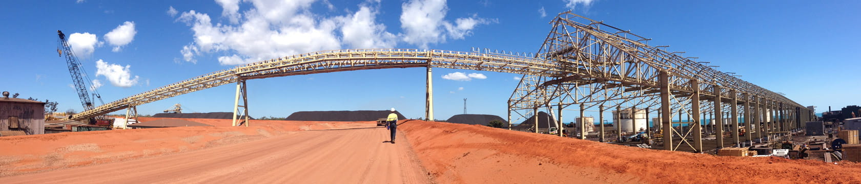 manganese processing infrastructure