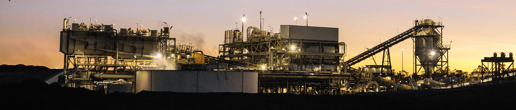 QCoal Byerwen minerals processing mine site