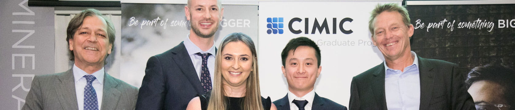 CIMIC Group 2019 Graduate of the Year award winners
