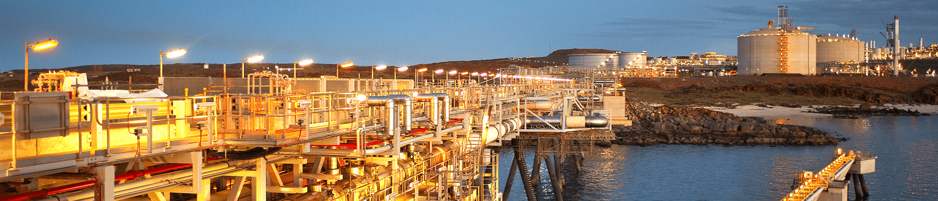 oil and gas site where UGL provides maintenance, turnaround and project services