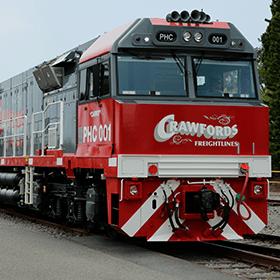 Crawfords train