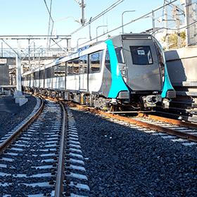 Driverless train SMNW