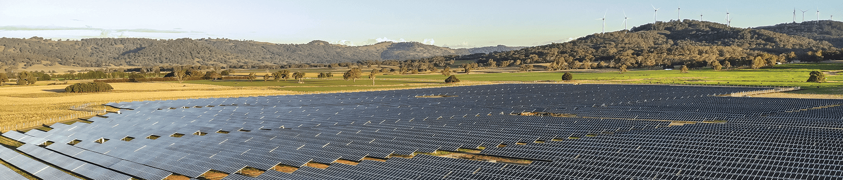 White rock solar farm