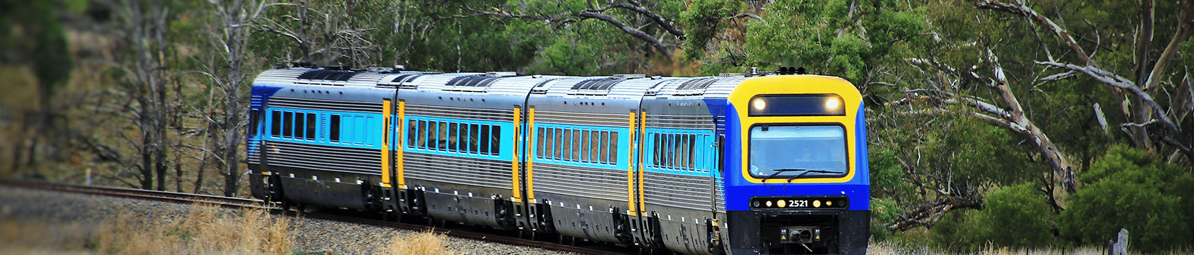 Country Regional Network train on track